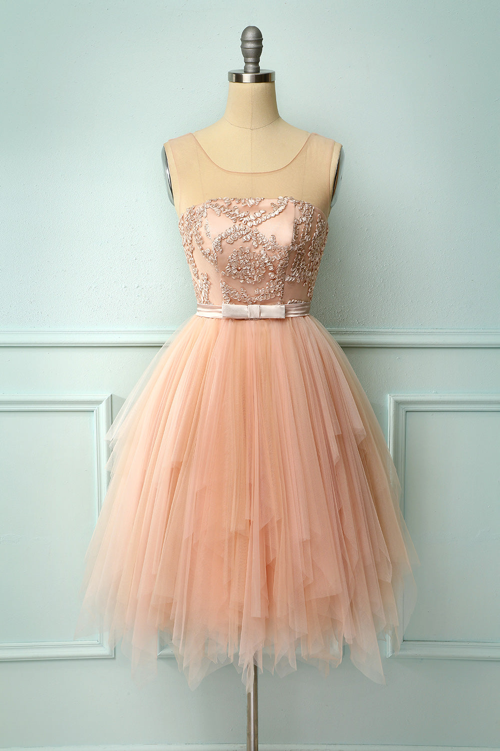 Pink Tulle Homecoming