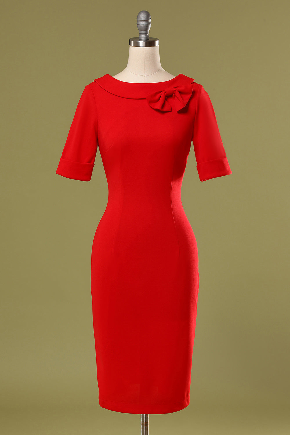 Red Bodycon Party Dress