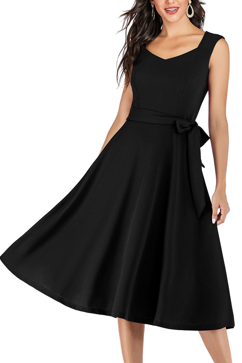 Load image into Gallery viewer, Soft Black Dress