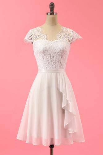 Formal Lace Ruffle Dress
