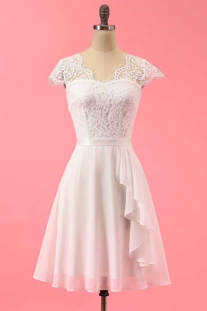 Load image into Gallery viewer, Formal Lace Ruffle Dress