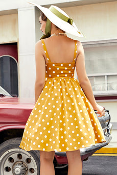 Polka Dots Vintage Dress