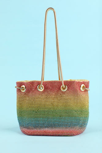 Glitter Beaded Party Handbag
