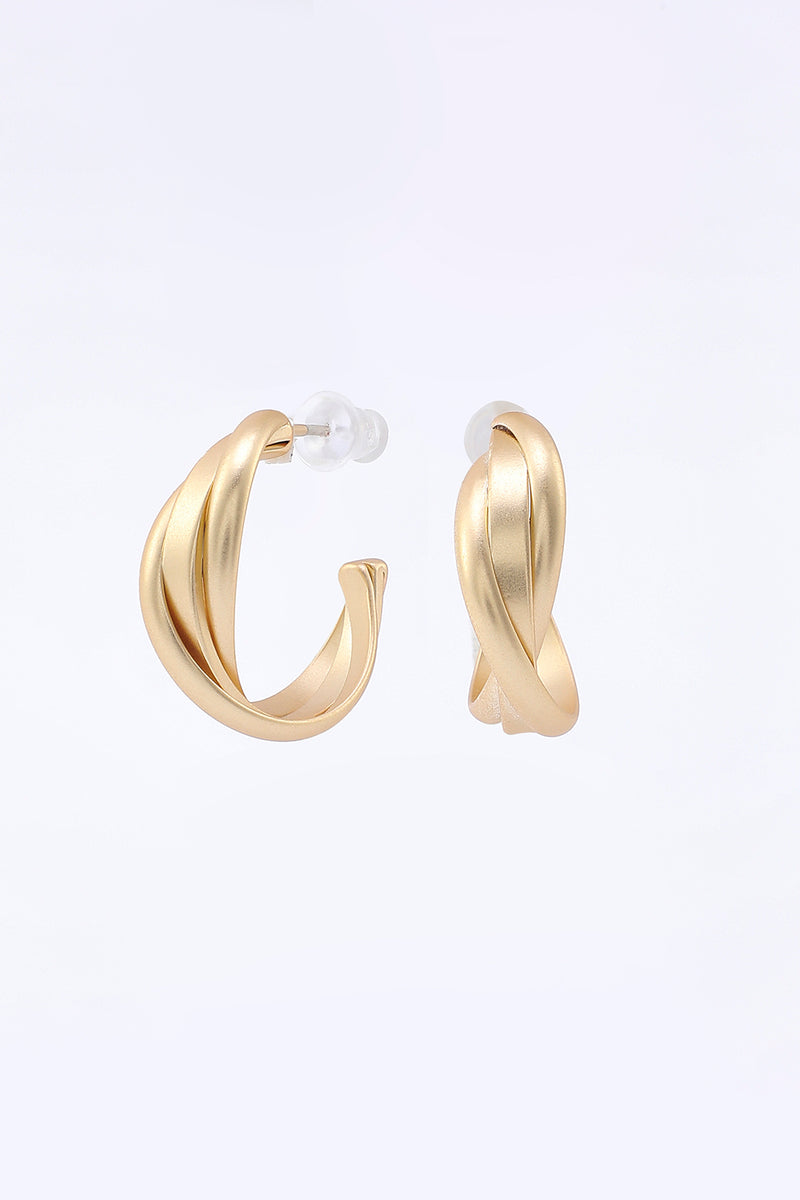 Load image into Gallery viewer, Golden Simple Style Earrings
