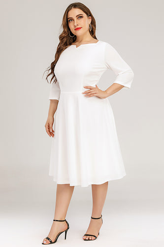 Plus Size Formal Vintage Dress