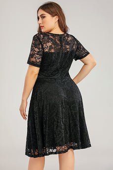 Lace Plus Size Formal Dress