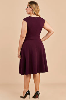 Plus Size Homecoming Party Dress