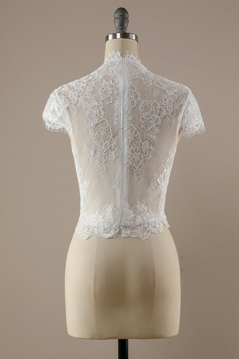 Load image into Gallery viewer, White Lace Top