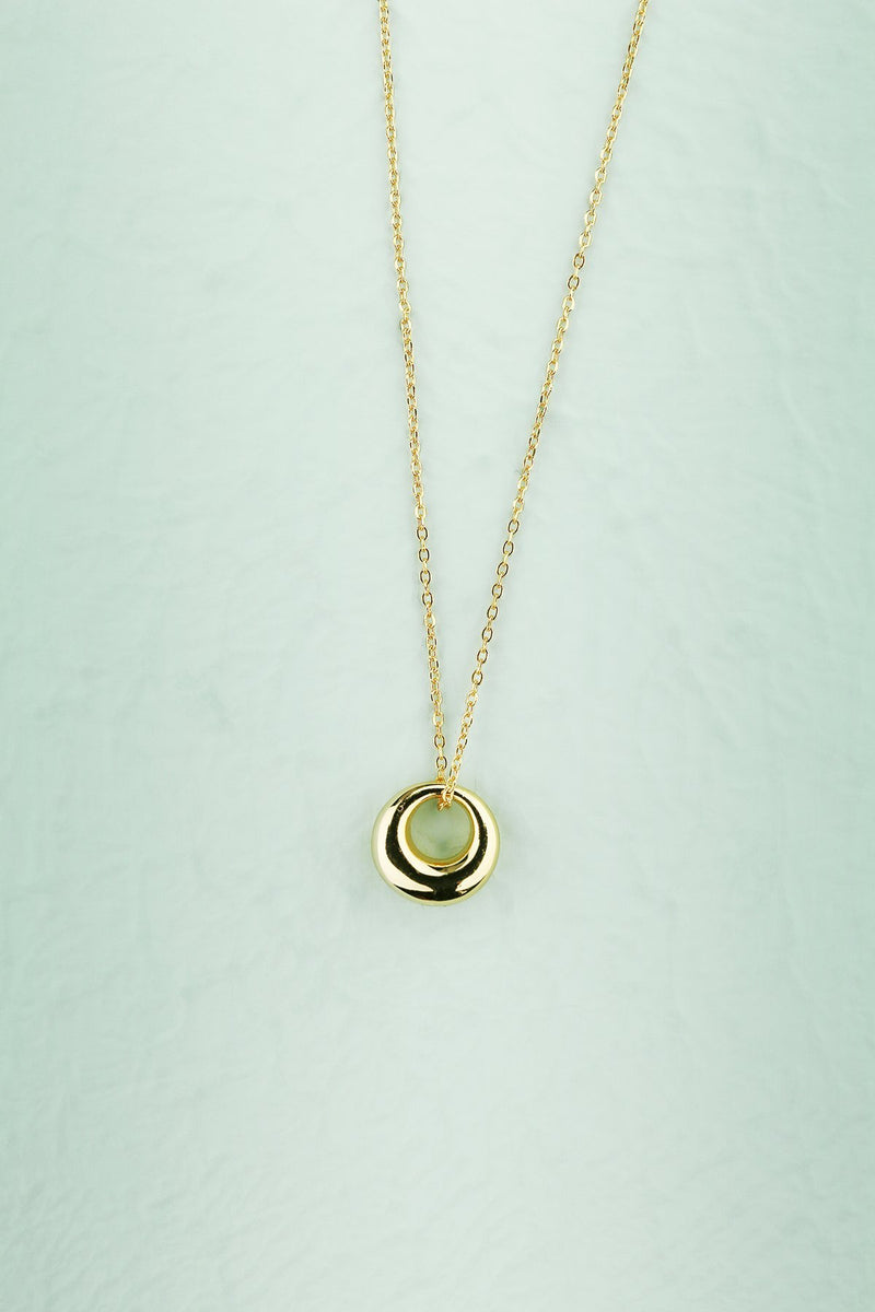 Load image into Gallery viewer, Gold Geometric Necklace - ZAPAKA