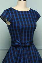 Load image into Gallery viewer, Navy Plaid - ZAPAKA