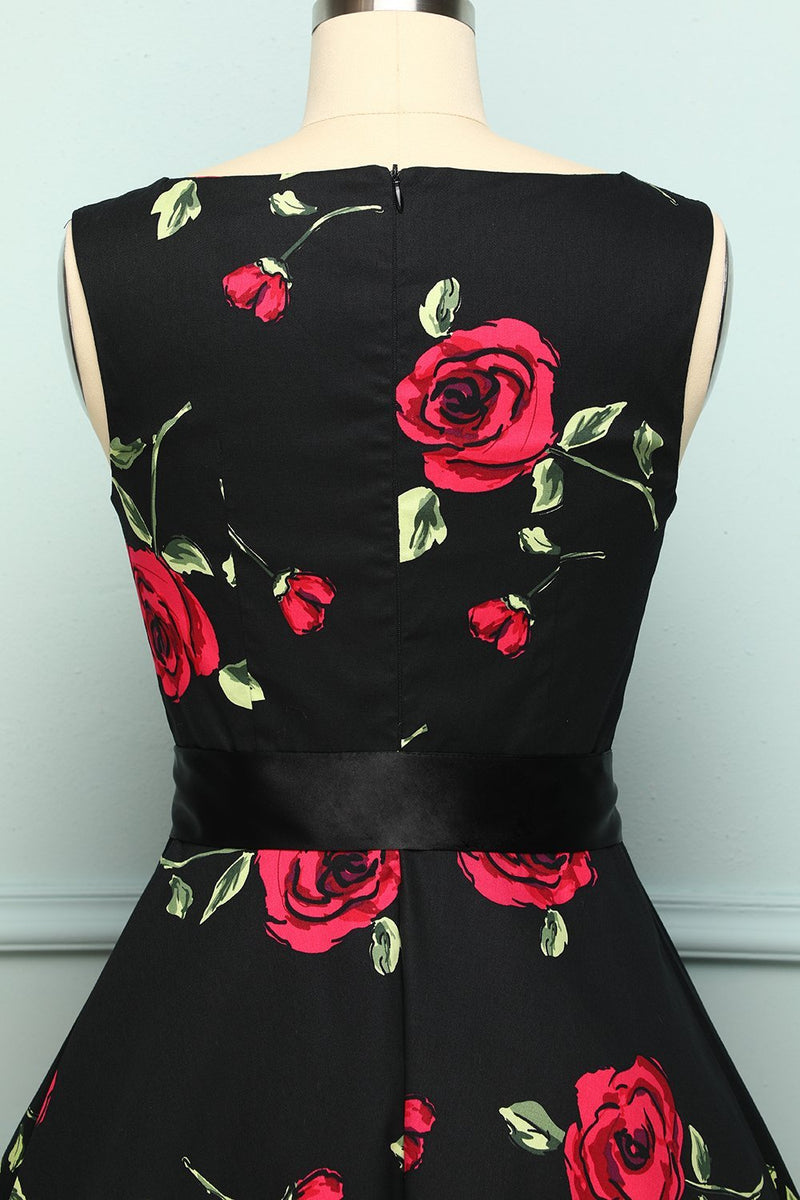 Load image into Gallery viewer, Rose Print Swing - ZAPAKA