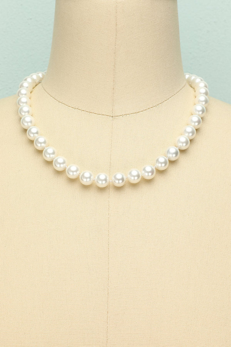 Load image into Gallery viewer, Shell Pearl Necklace - ZAPAKA