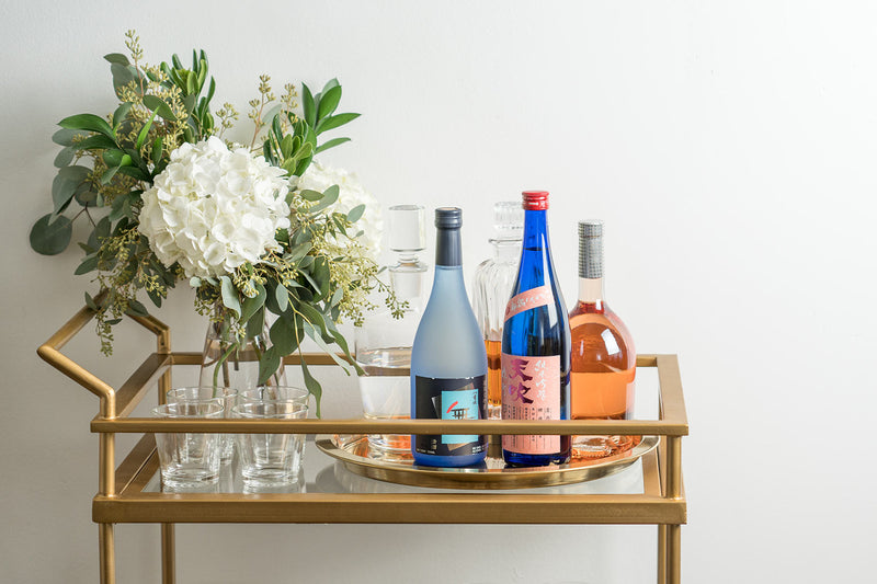 How to setup a sake bar at home
