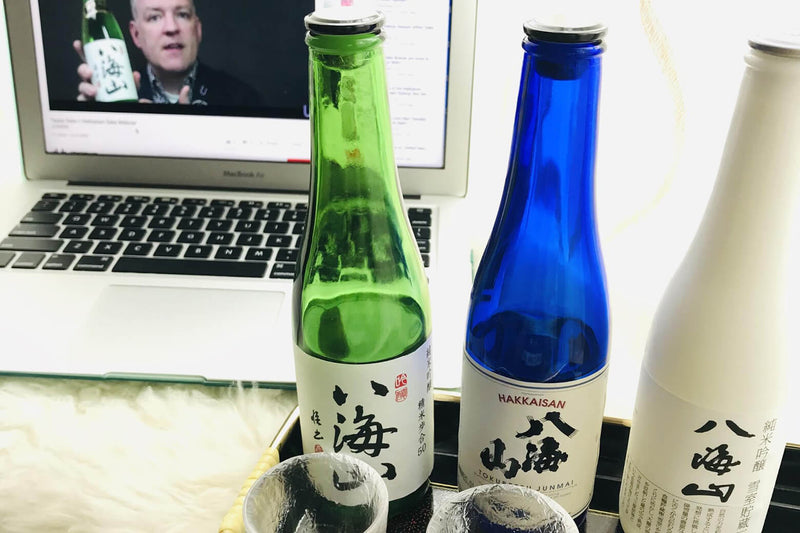 One-on-one sake tasting with Hakkaisan