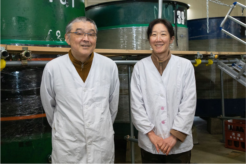 The world of sake is where women can shine—Yuho and Miho Fujita