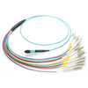 MM MPO Cable, MPO to LC/UPC,12ch