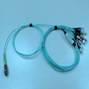 MM MNC Cable, MNC to FC/UPC,16ch