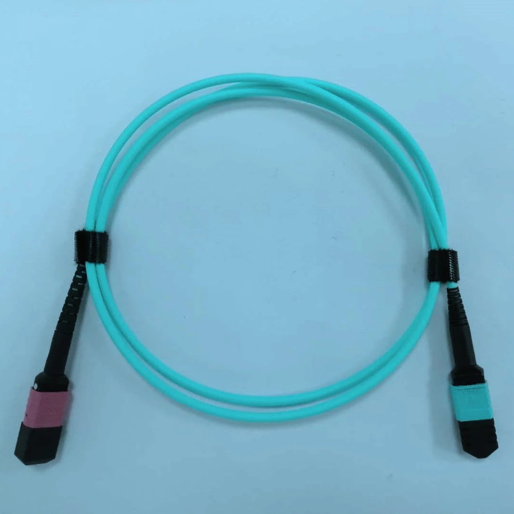 MM MNC Cable, MNC to MPO (0°),12ch