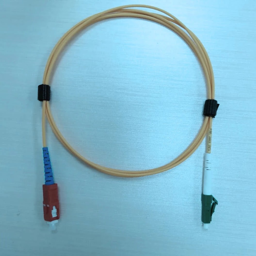 SM NC Cable, SC/NC to LC/APC