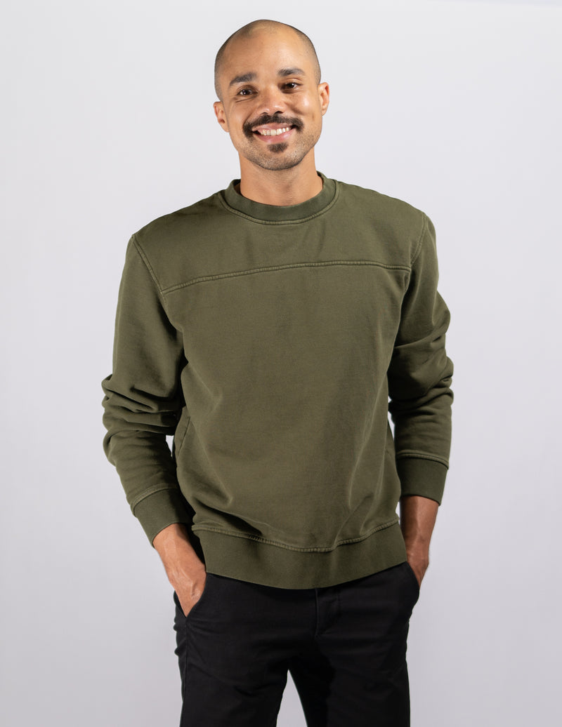 crewneck,Vintage Spanish Olive Unisex Crewneck - All For Ramon