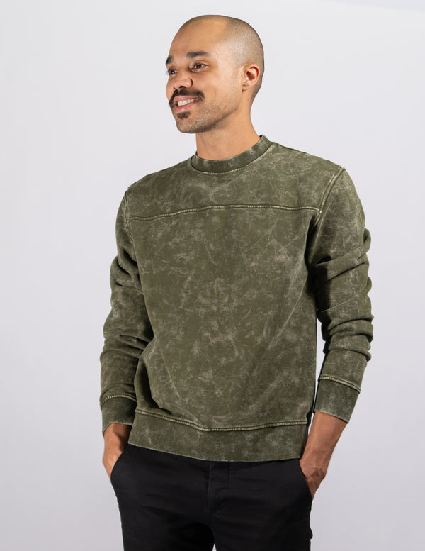 crewneck,Aged Spanish Olive Unisex Crewneck - All For Ramon