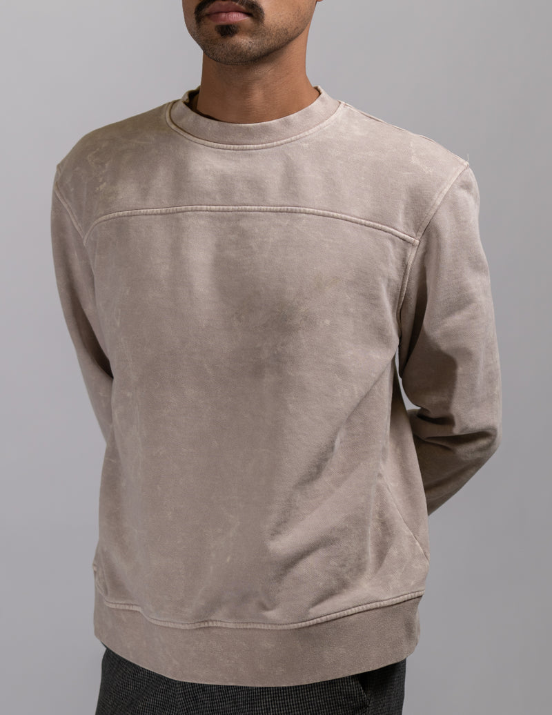 crewneck,Aged Latte Unisex Crewneck - All For Ramon