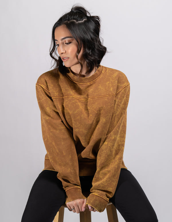 crewneck,Aged Cognac Unisex Crewneck - All For Ramon