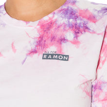 Load image into Gallery viewer, ,Pink Grape Tie Dye Unisex Tee - All For Ramon