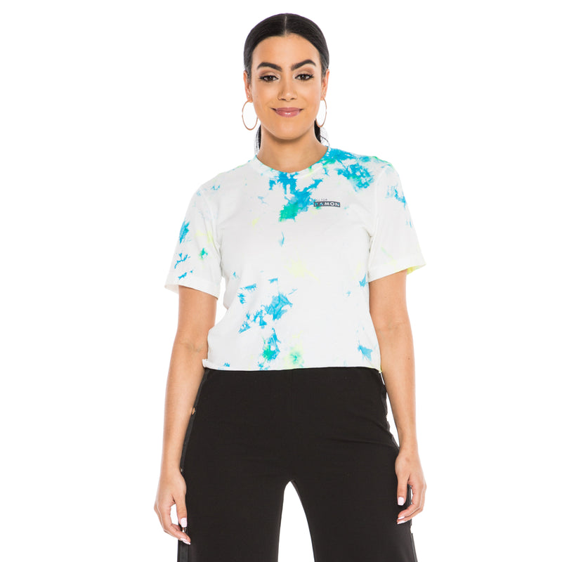 ,Lemon Ice Tie Dye Unisex tee - All For Ramon
