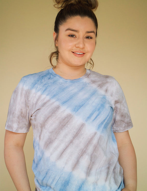 ,Deep Sea Tie Dye T-shirt - All For Ramon