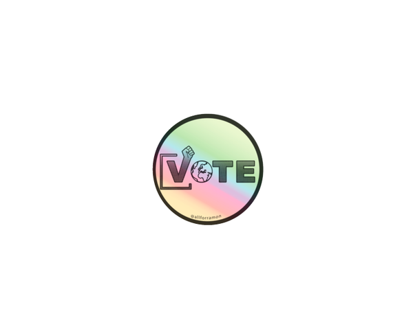 ",""Vote"" Sticker - All For Ramon"