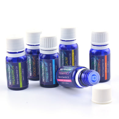 100% Pure Essential Oils for Aromatherapy Diffuser (6 PACK)