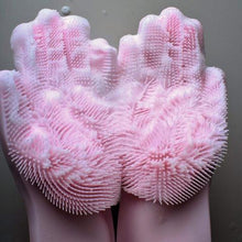 Load image into Gallery viewer, Silicone Scrubber Gloves
