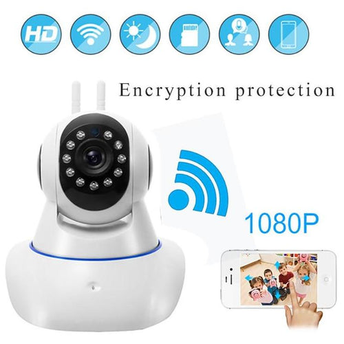 360° Panoramic WiFi Camera with 2 Way Audio