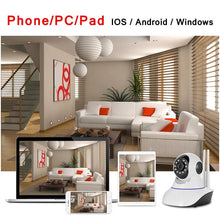 Load image into Gallery viewer, 360° Panoramic WiFi Camera with 2 Way Audio