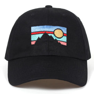 Sunset Mountain Hat