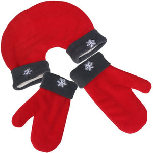 Polar Fleece Couple Gloves