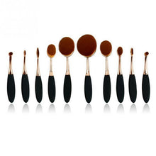 Load image into Gallery viewer, Rose Gold Makeup Brush Set