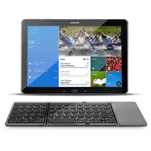 Load image into Gallery viewer, Wireless Folding Keyboard with Touchpad
