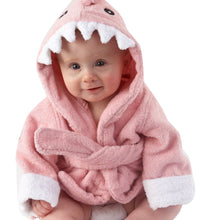 Load image into Gallery viewer, Cute Baby Shark Bathrobe