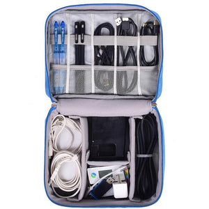 Waterproof Electronics Organizer and Travel Bag