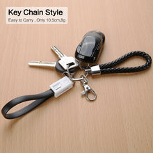 Load image into Gallery viewer, KeyChain iPhone Charging Cable