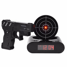Load image into Gallery viewer, Laser Gun Alarm Clock