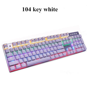 Rainbow Light Up Keyboard