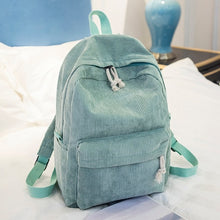 Load image into Gallery viewer, Cute Corduroy Backpack