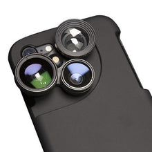 Load image into Gallery viewer, 4 in 1 Phone Lens and Case (iPhone)