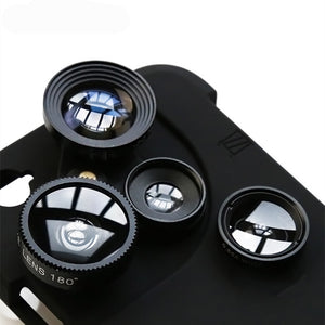4 in 1 Phone Lens and Case (iPhone)