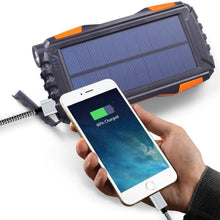 Load image into Gallery viewer, Waterproof Solar Power USB Power Bank