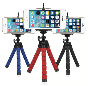Flexible Tripod + Bluetooth Remote