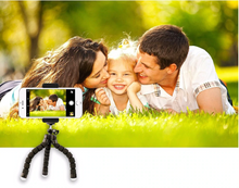 Load image into Gallery viewer, Flexible Tripod + Bluetooth Remote